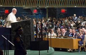 PAPA EN LA ONU