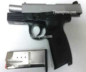 arma de presunto homicida de 14 años