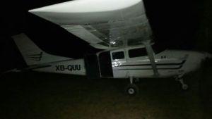 tercera narco avioneta