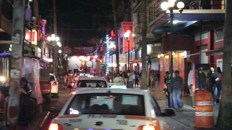 Esta zona es conocida por la venta de droga y homicidios.  Crédito: Leonardo Ortiz.