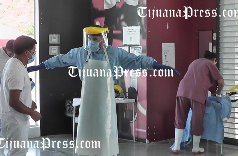 Tijuana más muertes, Mexicali más contagios