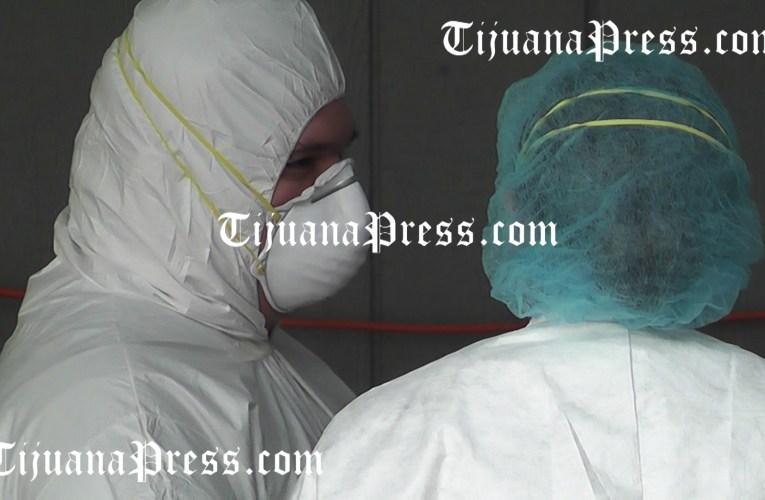 Esta semana, más muertos por Covid-19 que por la delincuencia en Tijuana.