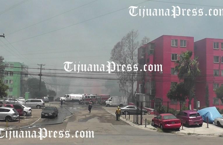 Con la condición Santa Ana llegaron los incendios