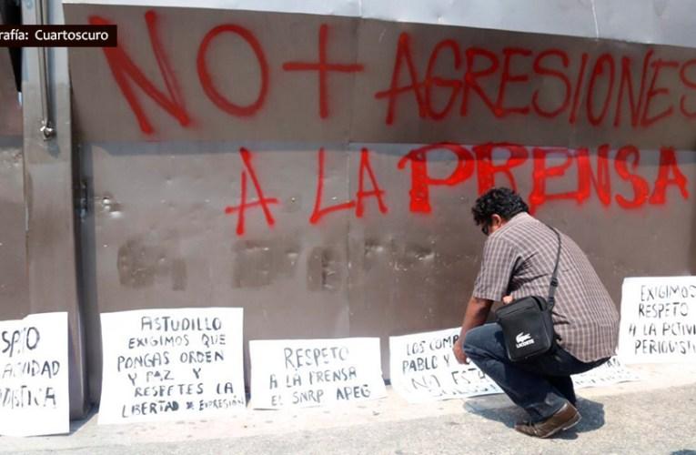 Exigen a gobierno de Guerrero acciones urgentes para proteger a periodistas
