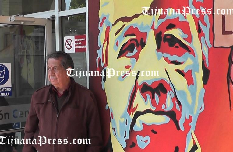 José Luis Pérez Canchola entre los homenajeados en nuevo mural