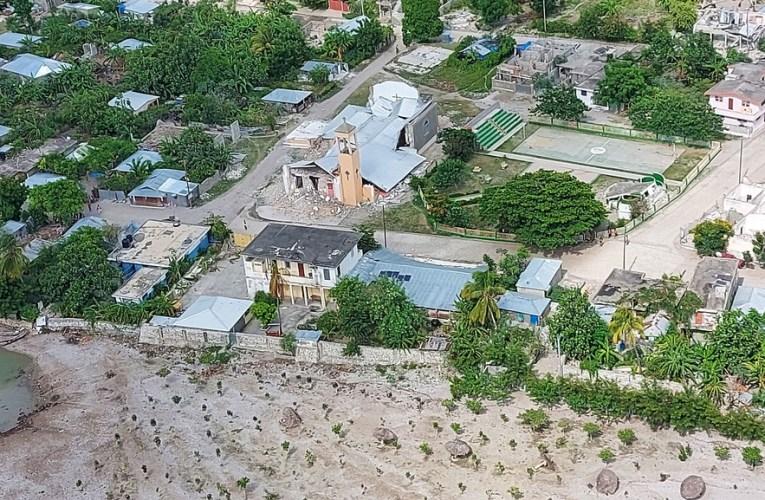 Haití, entre el recuento de los daños por el terremoto y la llegada de una fuerte tormenta