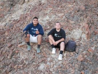 Darin on the Rocks