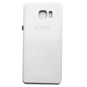 Samsung Note 5 זכוכית אחורית - לבן