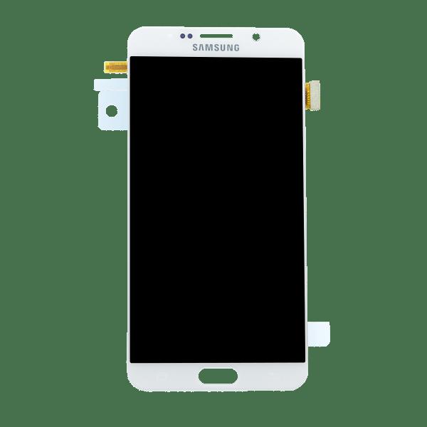 Samsung Note 5 זכוכית קדמית - לבן