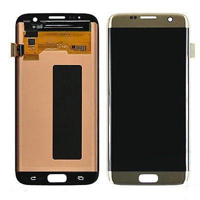 Samsung S7 Edge LCD - זהב