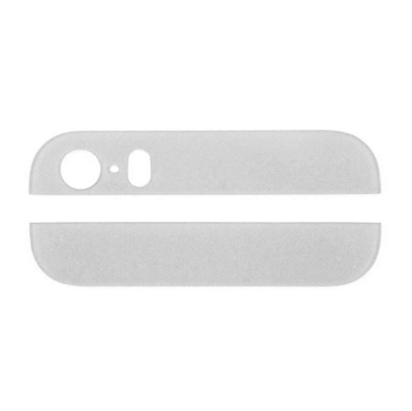 אייפון 5S זכוכית תחתונה ועליונה - לבן