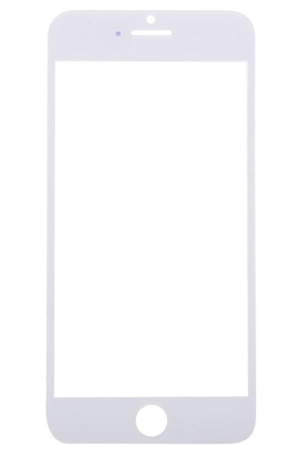 אייפון 6 זכוכית קדמית - לבן