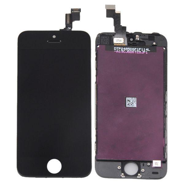 אייפון 5S LCD Screen (A/M Quality)  - שחור