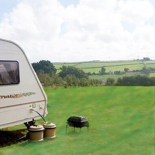 campsite green