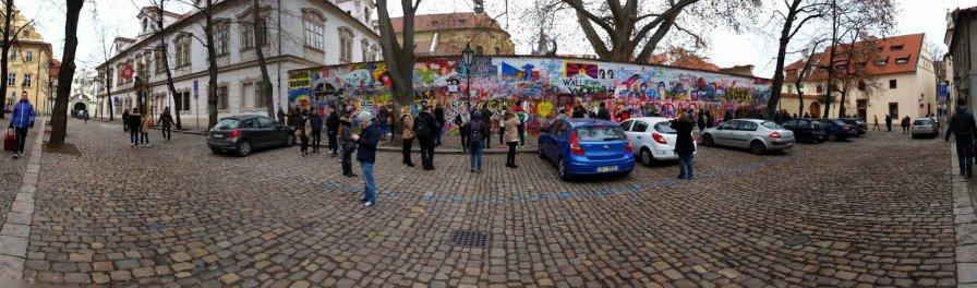 Praag (74) - Lennon Wall