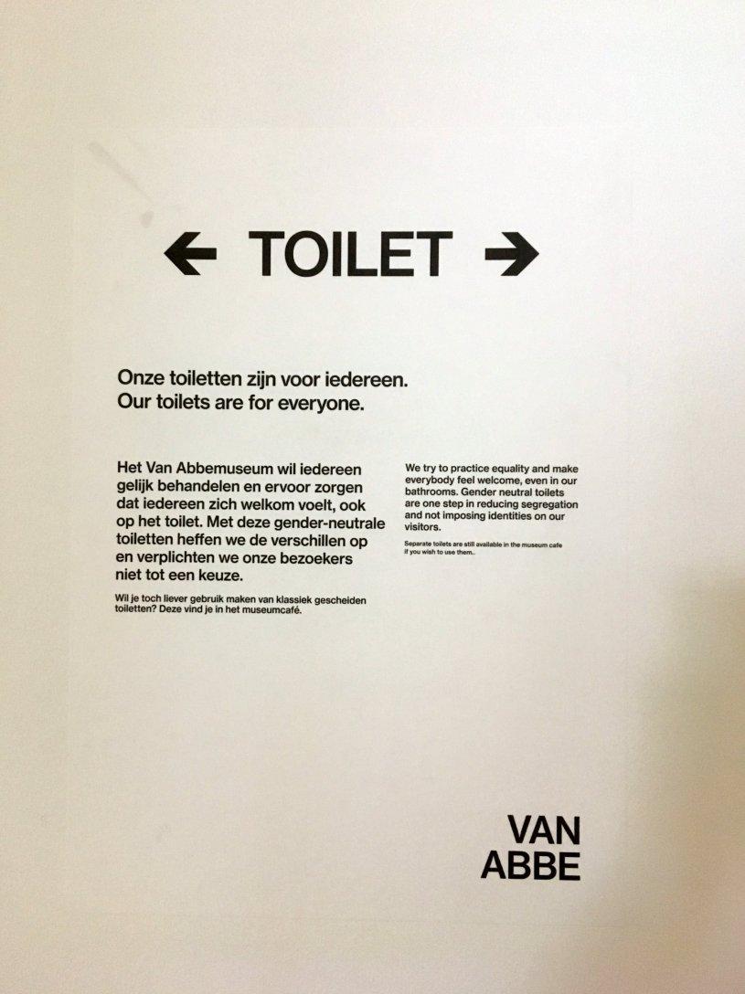 Van Abbemuseum - Toilet