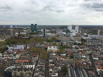 Beklimming Domtoren Utrecht - Uitzicht (2)