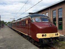 PTT Hondenkop trein Spoorwegmuseum