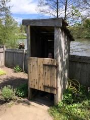Luxe toilet.... voor die tijd