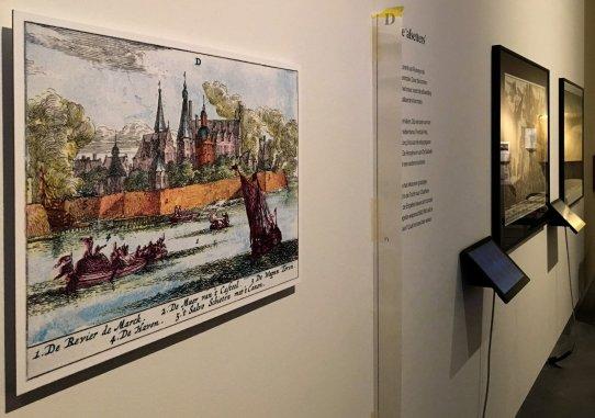 Stedelijk museum Breda - Ingekleurde prent