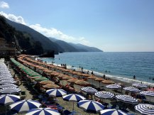 Het strand van Monterosso