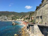 De rotsweg vanaf Monterosso