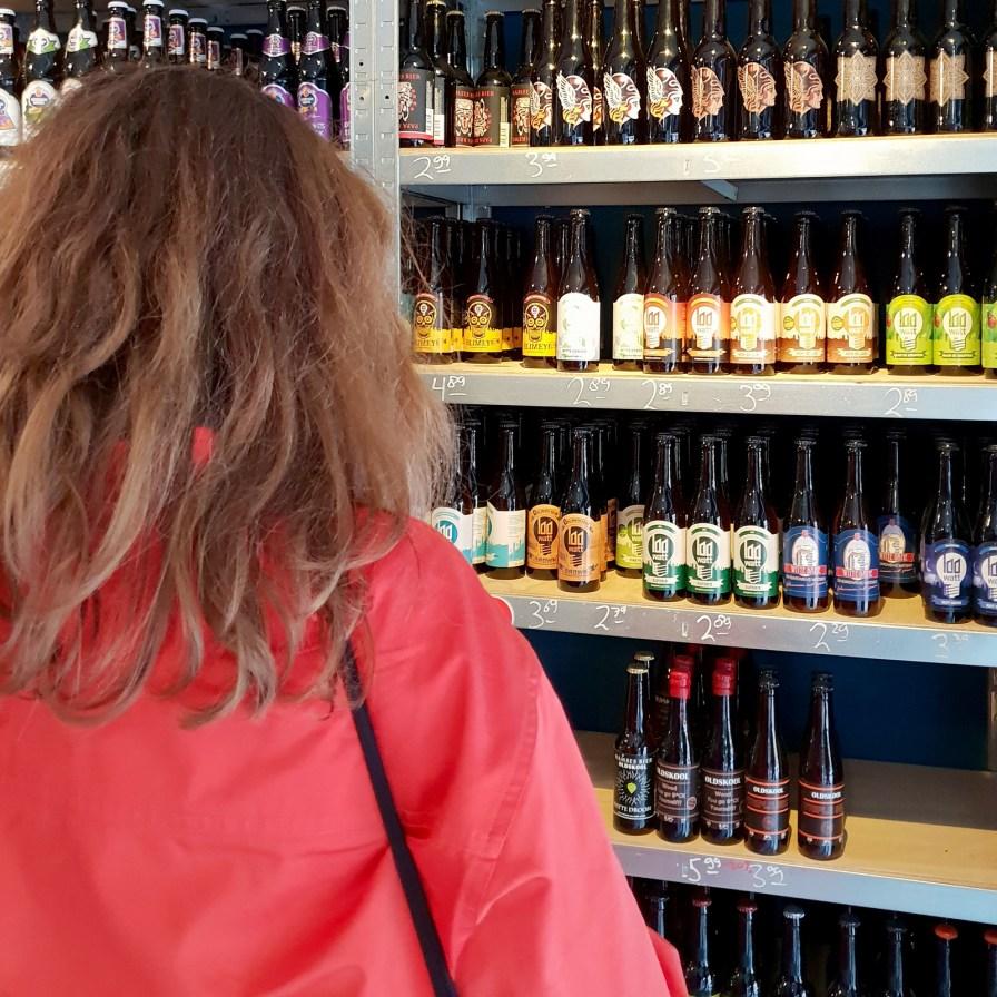 De Eindhovense biertjes bij de Bierbrigadier.