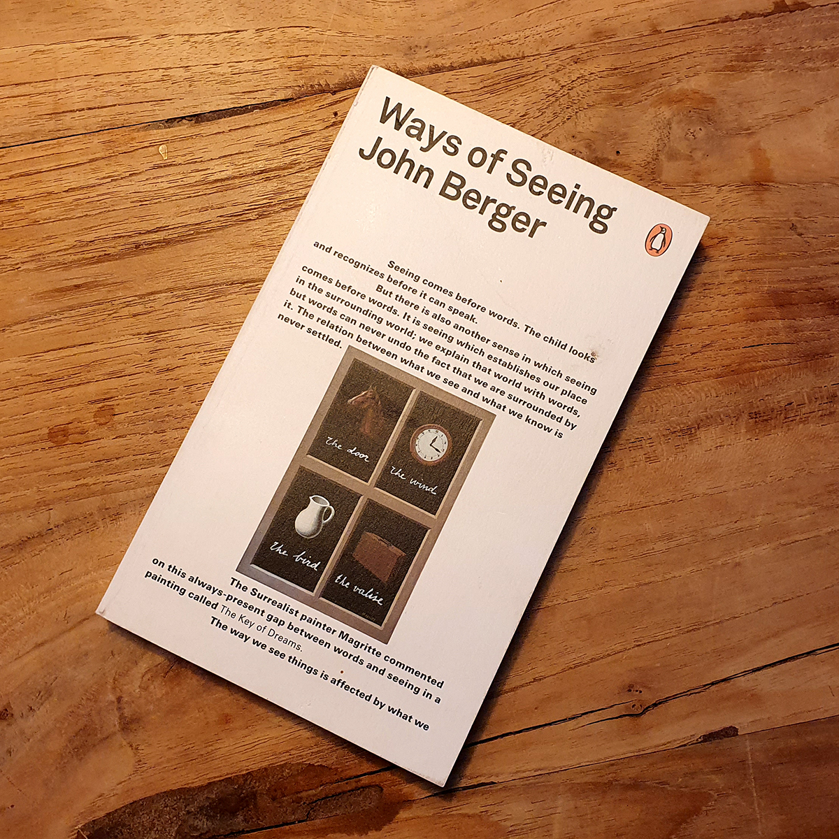 Boek Ways of Seeing - John Berger