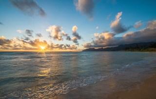 Sunrise at Tiki Moon Villas