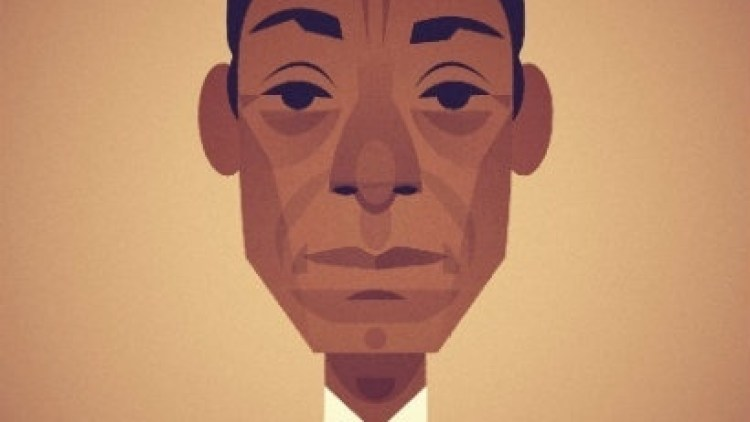 James Baldwin Cabaret for Freedom - Illustration by Stanley Chow