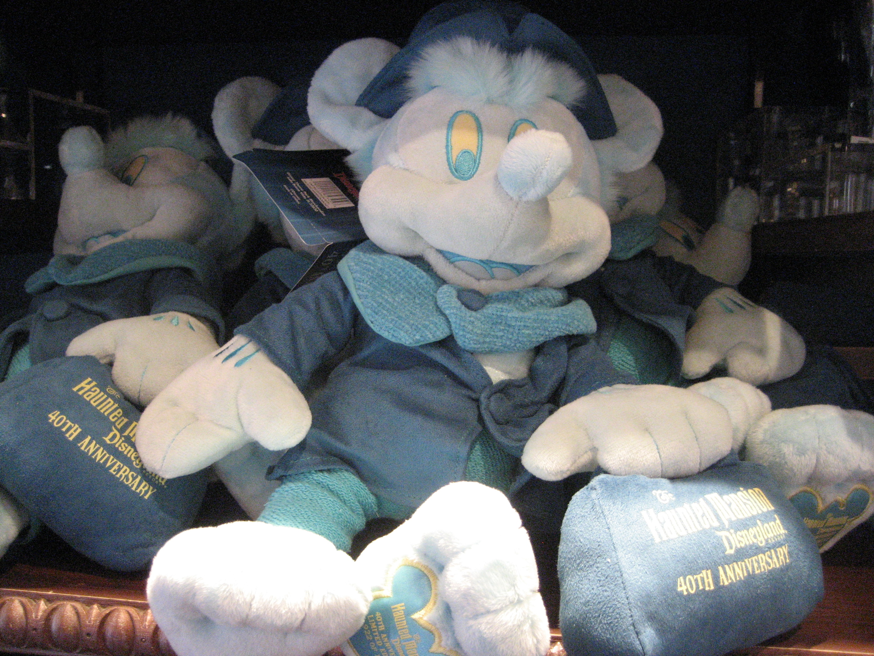 Mickey as a hitchhiking ghost