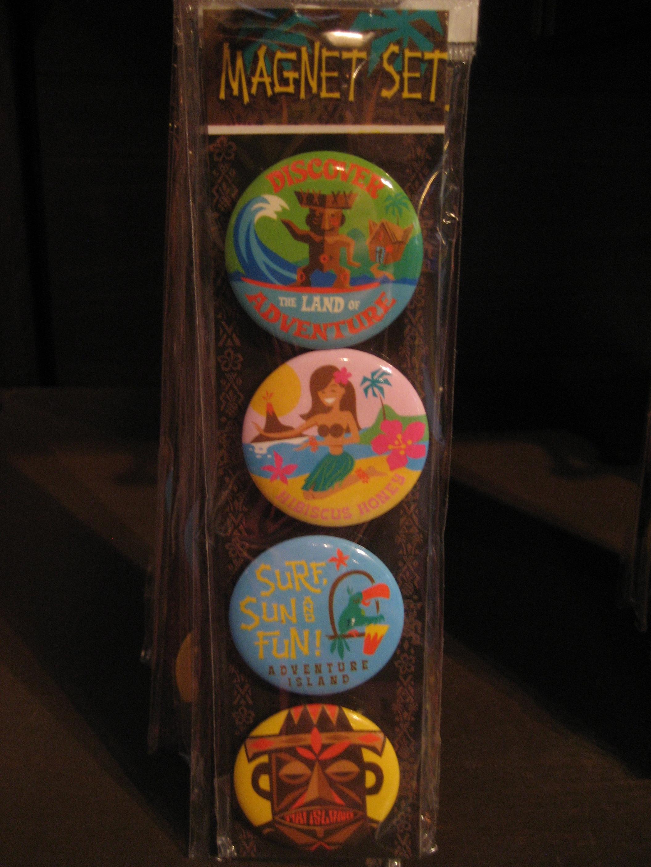 Enchanted Tiki Room magnets