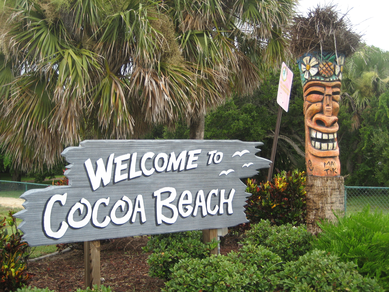 Now entering Cocoa Beach
