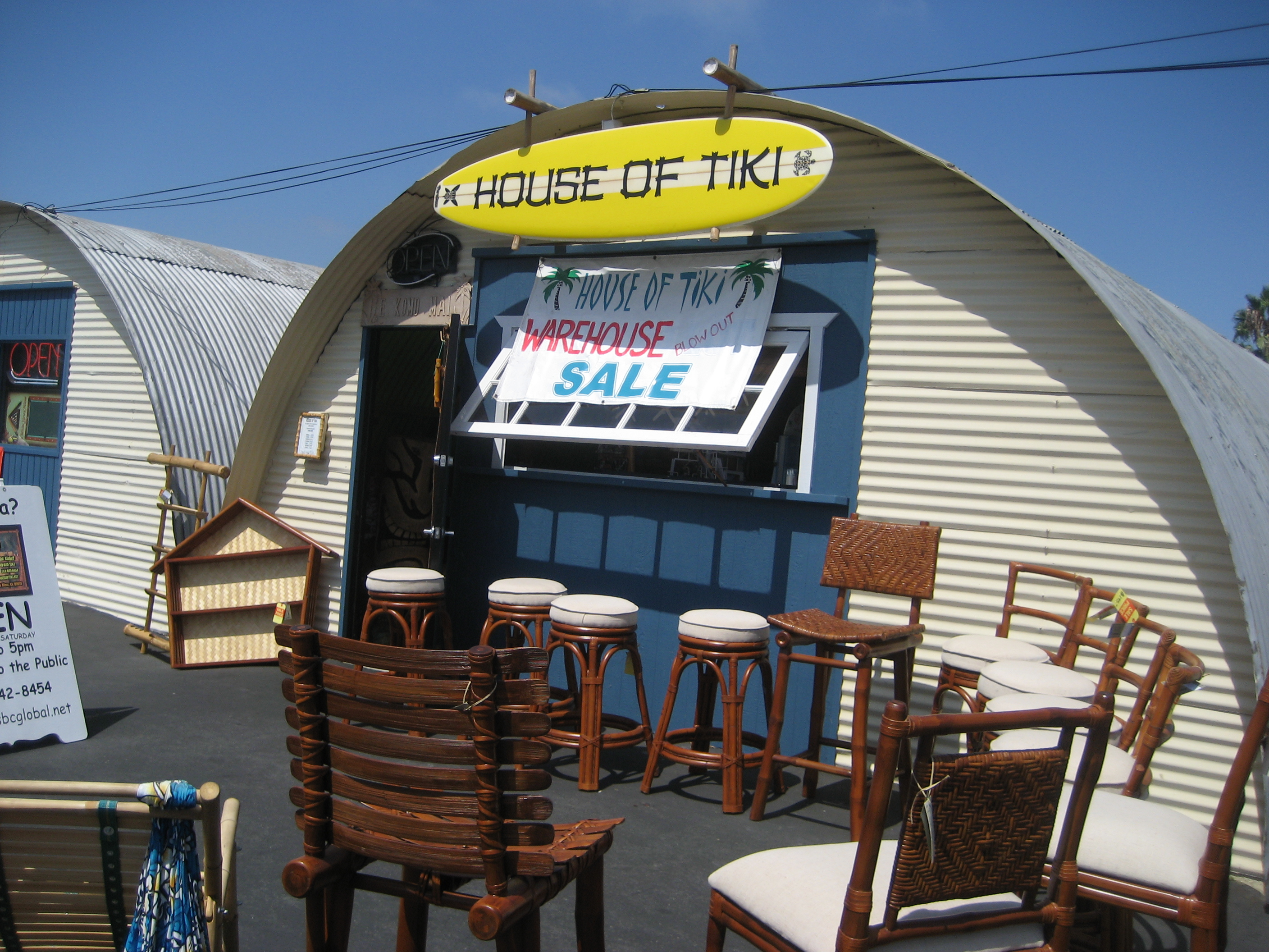 House of Tiki in Costa Mesa