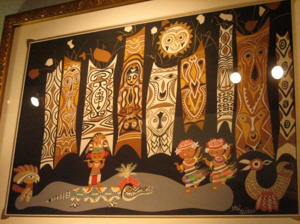 Disney Polynesian Tiki Art
