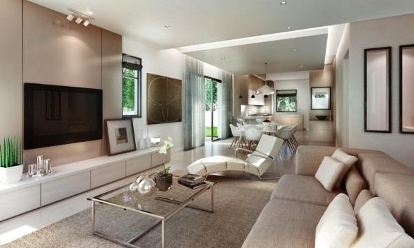 Impresionantes y elegantes Salas Modernas  Tikinti