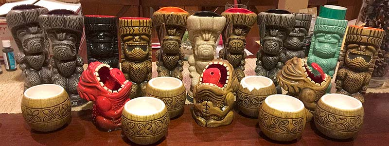 Black Friday Tiki Mugs