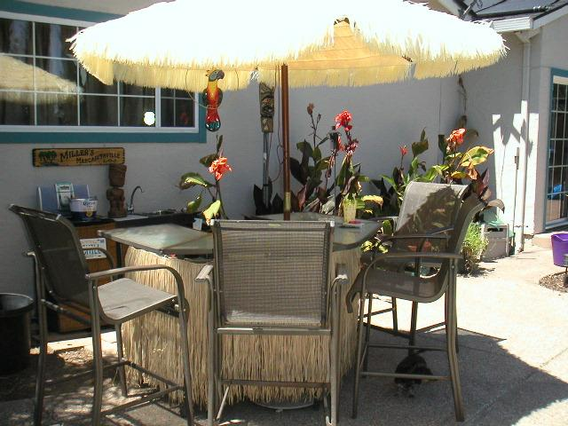 Post pictures of your Home tiki barspaceyard  Tiki
