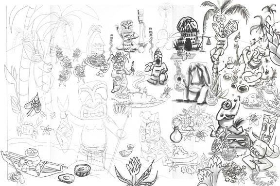 Little Lost Tiki's Compendium: Page 21 a buncha stuff