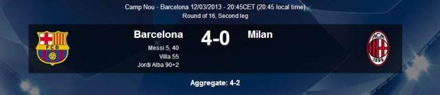 Messi 4-0
