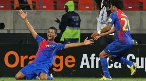 Cape Verde mob news conference while celebrating progress to Afcon quarter-final — video