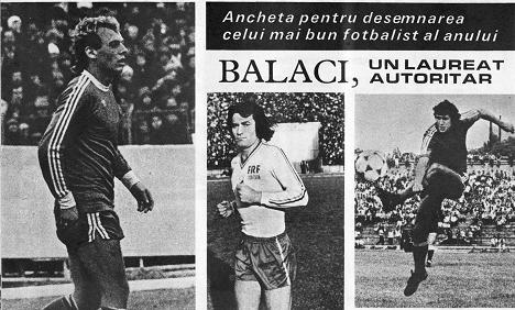 Top 3 fotbaliști români - Ilie Balaci
