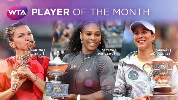 halep player of the month