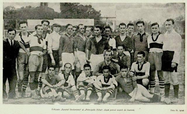 Sportul Studențesc în 1929