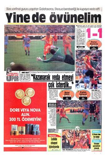 Galatasaray 1-1 Steaua 1989