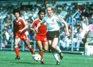 Romania Germania 1984 Hagi Rummenigge