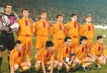 Romania - Scotia 1-0, 16 oct. 1991