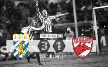 IFK Goteborg Dinamo 1981