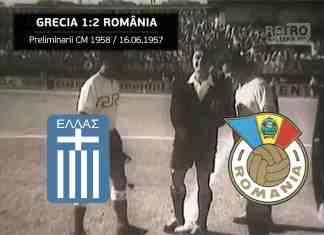 Grecia Romania 1957