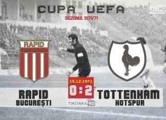 Rapid 0-2 Tottenham 1971